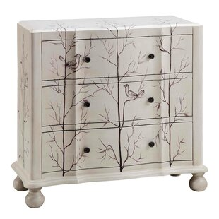 Great choice Vitela 3 Drawer Chest By Ophelia & Co.
