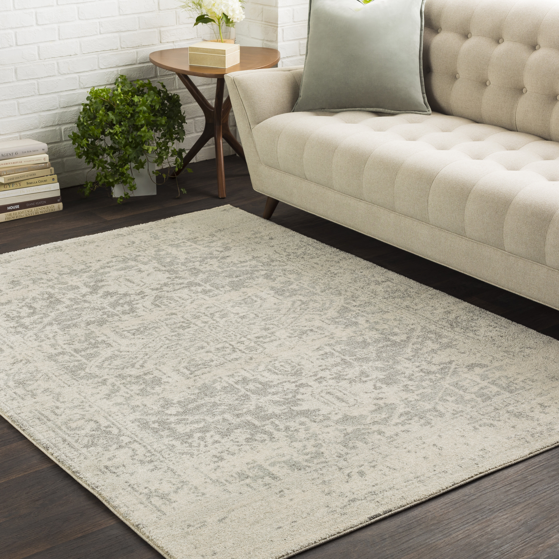 Mistana Hillsby Oriental Charcoal Light Gray Gray Area Rug Reviews Wayfair