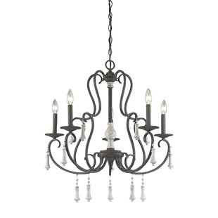 Pollitt 5-Light Chandelier by One Allium Way