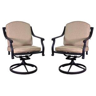 Fleur De Lis Living Ross Rocking Chair with Sunbrella Cushions (Set of 2)