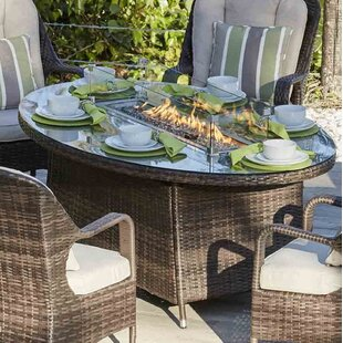 Carshalt Patio Aluminum Propane Fire Pit Table by Darby Home Co Today Only Sale