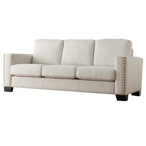 Blackston Nailhead Trim Sofa by Mercury Row