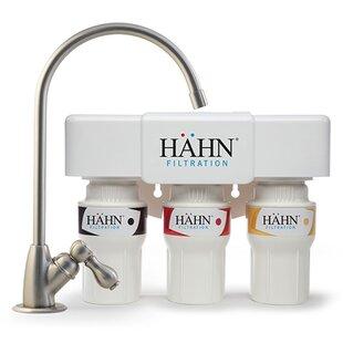 Hahn 3 Stage Under Sink Water Filtration System