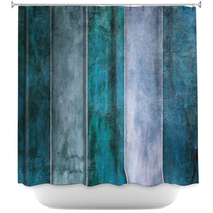 East Urban Home Water Shower Curtain | Wayfair