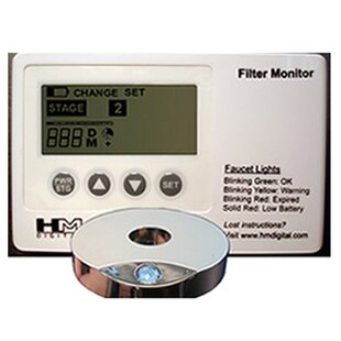 HM Digital Meters FM-1 Water Filtration System Monitor for Five StaSystems