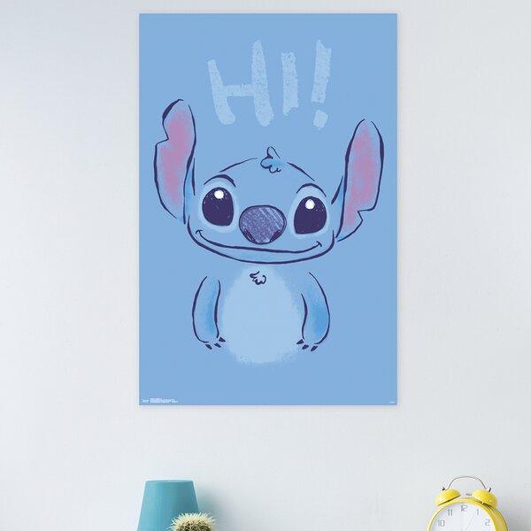 Trends International Lilo Stitch Hi Paper Print Wayfair
