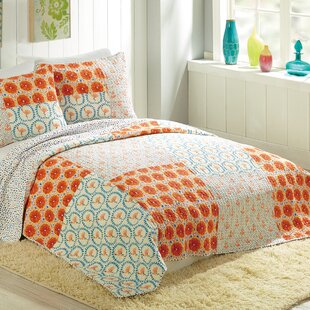 Makers Collective Flamingo Citrus Quilt by Bouffants and Broken Hearts