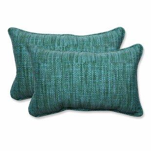 Vanderburg Outdoor Lumbar Pillow (Set of 2)