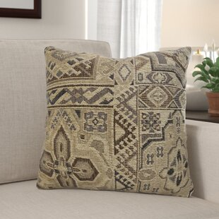 Mcclary Persian Mosaic Chenille Throw Pillow (Set of 2)