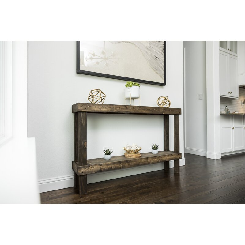 Dunlap Solid Wood Console Table