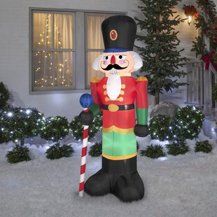 Airblown Nutcracker Inflatable. by The Holiday Aisle