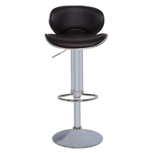 Adjustable Height Swivel Bar Stool by Vog..