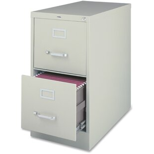 Lorell 2-Drawer File Cabinet