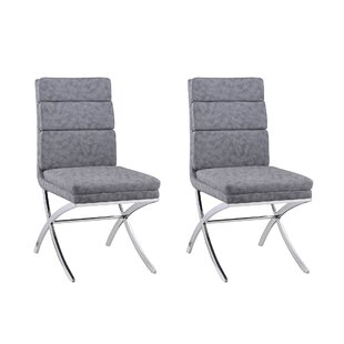 Emery Upholstered Dining Chair (Set of 2) Orren Ellis