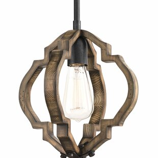 Loon Peak Jefferies 1-Light Geometric Pendant
