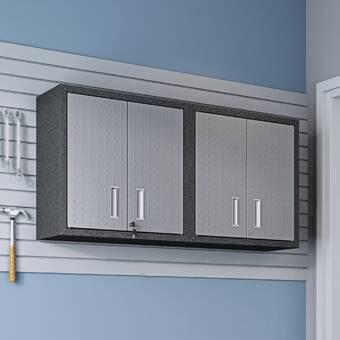 Wfx Utility 30 H X 30 W X 12 D Floating Garage Storage Cabinet