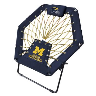 NCAA Premium Bungee Folding Camping Chair by Imperial International