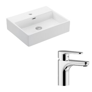 WS Bath Collections Quattro Ceramic 20