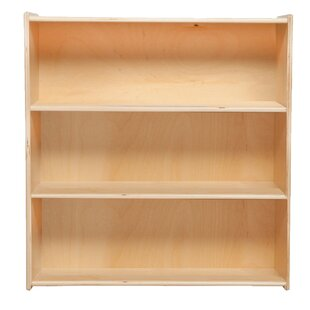Contender 3 Compartment Shelving Unit 3388 Bookcase by Wood Designs