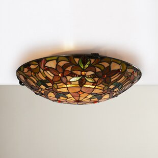 Jan 2-Light Flush Mount by..