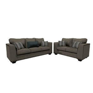 Cherryford 2 Piece Living Room Set by Latitude Run