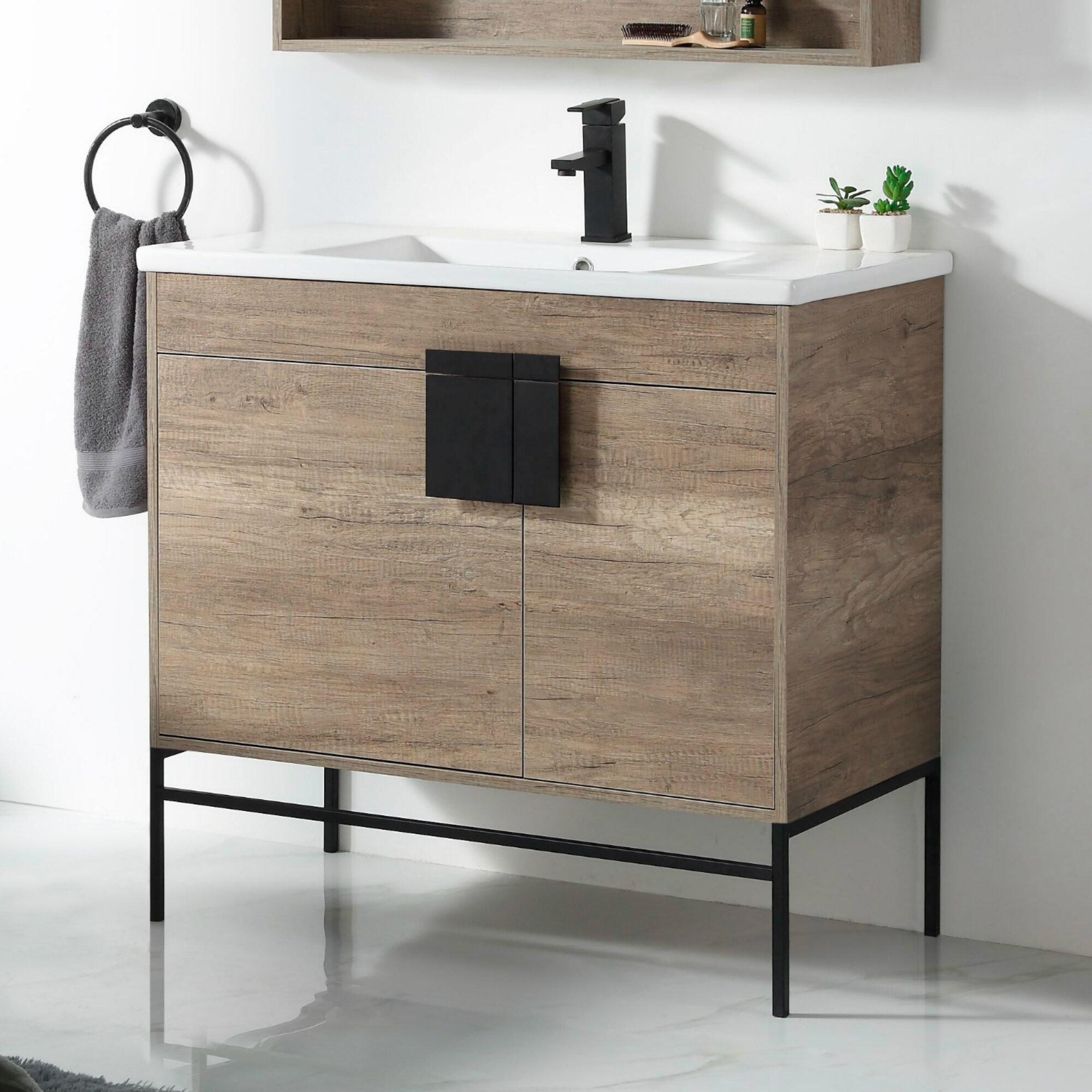 Lee 36 Single Bathroom Vanity Set Reviews Allmodern