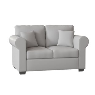 Lydia 63 Rolled Arm Loveseat