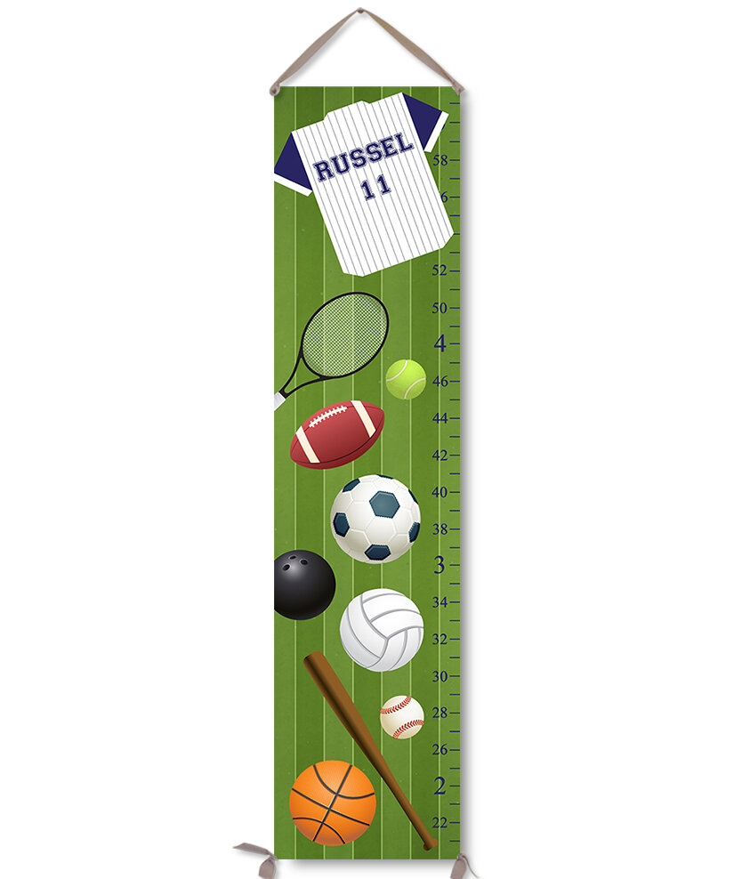 Jolie prints personalized kids sports canvas growth chart reviews jolie prints personalized kids sports canvas growth chart reviews wayfair nvjuhfo Gallery