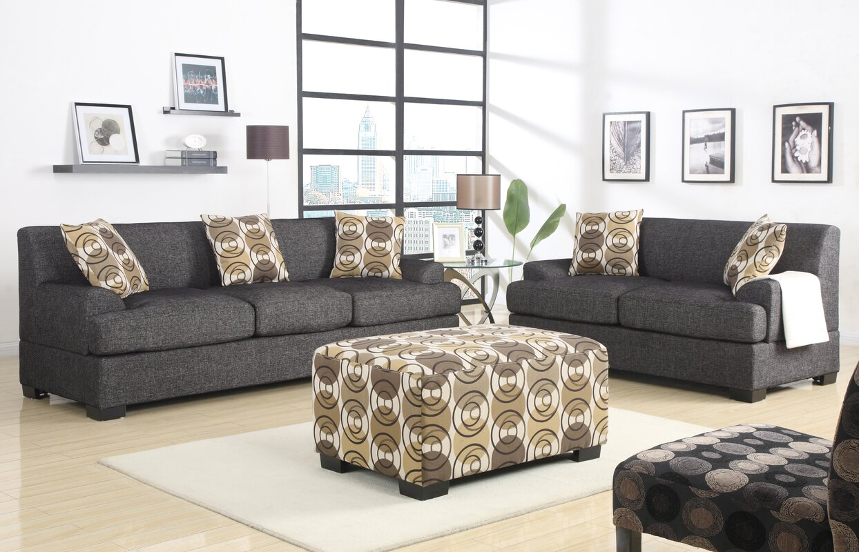 Mila 2 Piece Living Room Set Part 26