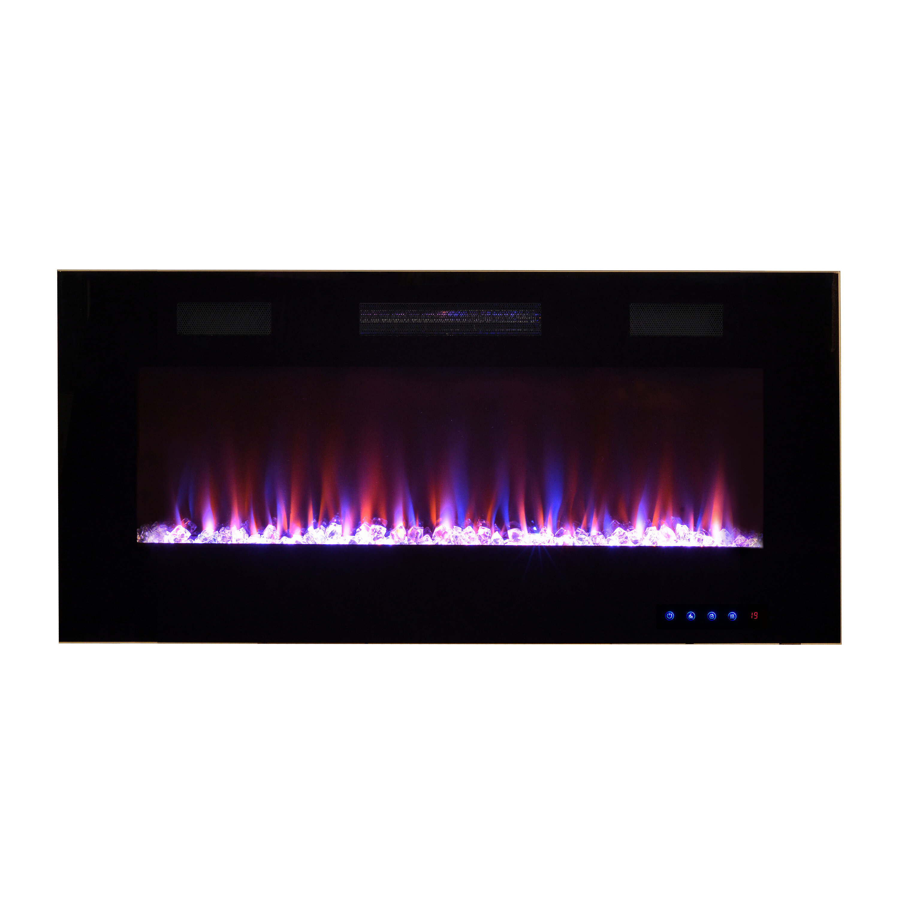 Swell Pacific Heat Recessable Wall Mounted Electric Fireplace Interior Design Ideas Skatsoteloinfo