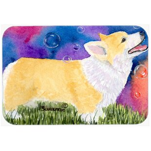 Review Corgi Glass Cutting Board By Caroline's Treasures