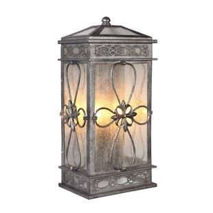 August Grove Caddy 2-Light Outdoor Wall Lantern
