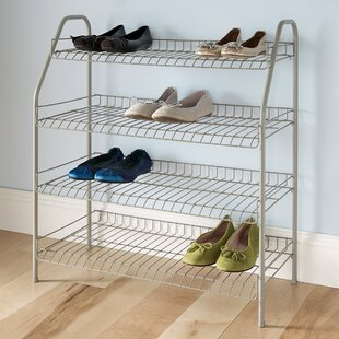 Best 12 Pair Shoe Rack By ClosetMaid Entry U0026 Mudroom Furniture