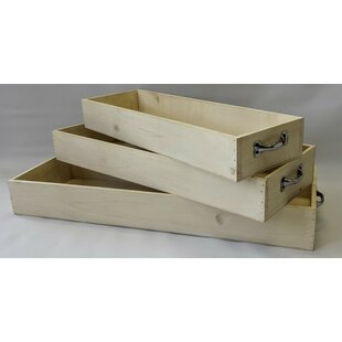 Arend 3 Piece Serving Tray Set