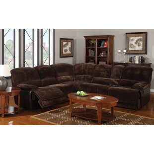 Shop Kroeger Reclining Sectional by Red Barrel Studio