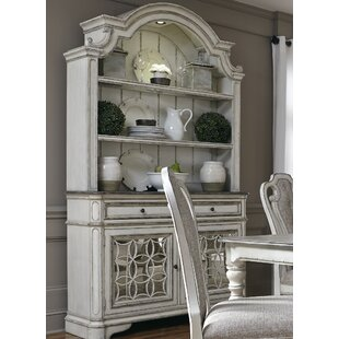 Lark Manor Tiphaine Lighted China Cabinet