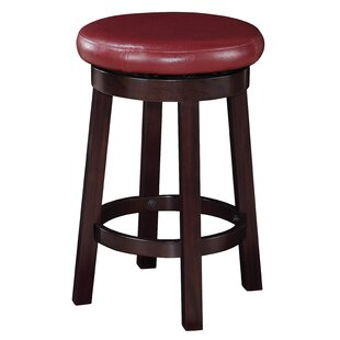 Chesterhill 24 Bar Stool Red Barrel Studio