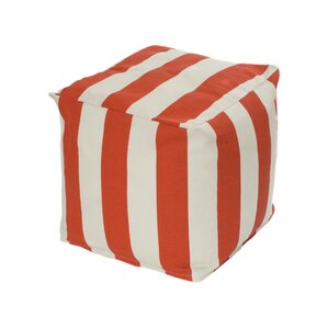 Merrill Bean Bag Cube Ottoman by Beachcrest Home