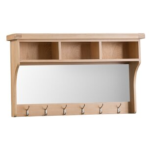 Fareham Hall Shelf Wall Mounted Coat Rack