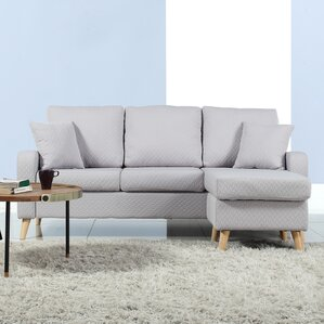 Northville Reversible Sectional : gray l shaped sectional - Sectionals, Sofas & Couches