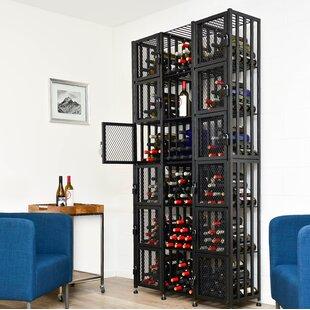 Locker 288 Bottle Floor Wine Rack