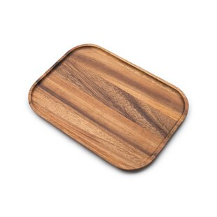 Gourmet Wood Steak Plate