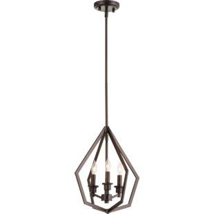 Wrought Studio Coleman 3-Light Lantern Pendant