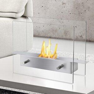 Tab Ventless Bio Ethanol Tabletop Fireplace