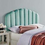 Halethorpe Upholstered Panel Headboard by Mercer41