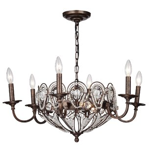 Castorena Candelabra 9-Light Candle Style Chandelier by House of Hampton
