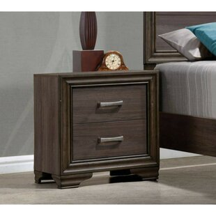 Bartell 2 Drawer Nightstand by Charlton Home