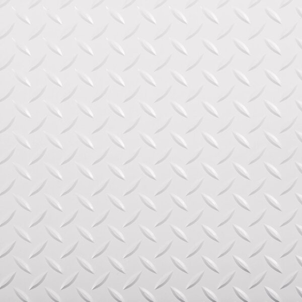 G Floor Race Day Peel And Stick Tile 1 Ft X 1 Ft Garage Flooring In Absolute White Wayfair