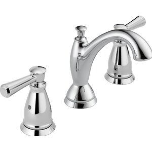 Linden� Widespread Double Handle Bathroom Faucet with Drain Assembly and Diamond Seal Technology