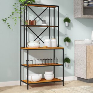 Briese Iron Baker's Rack by Willisto..